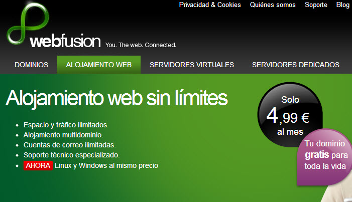 alojamiento hosting linux o windows