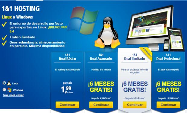hosting linux o hosting windows