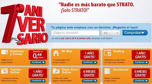 servidor virtual Strato