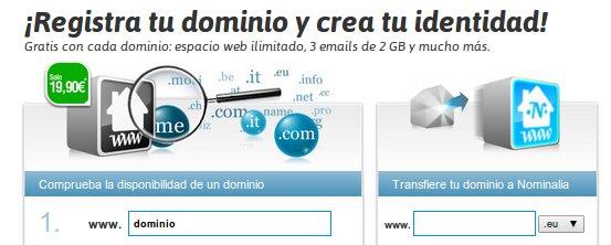 Descubre las ventajas del registro de dominios en Nominalia