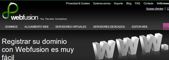 Webfusion opiniones