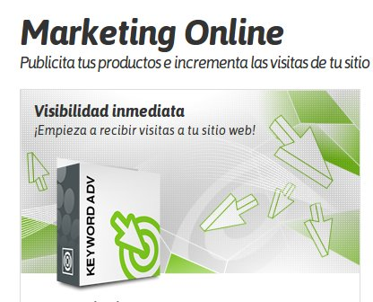 marketing online de Nominalia