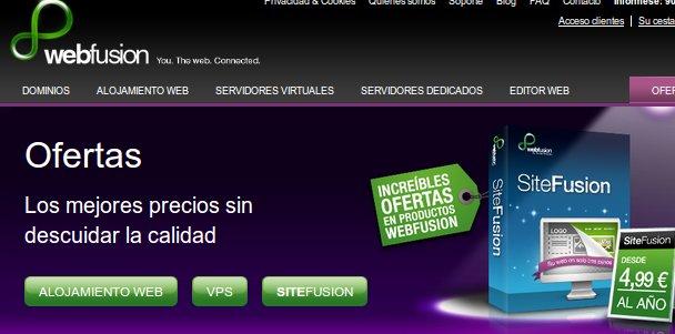 ofertas Webfusion