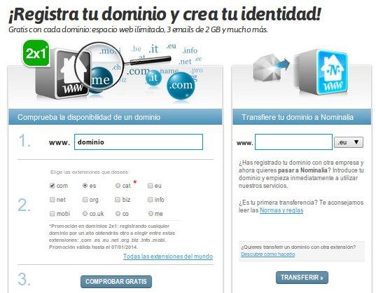 contratar dominios web