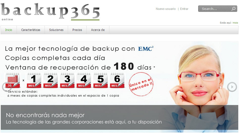 backup365 opiniones