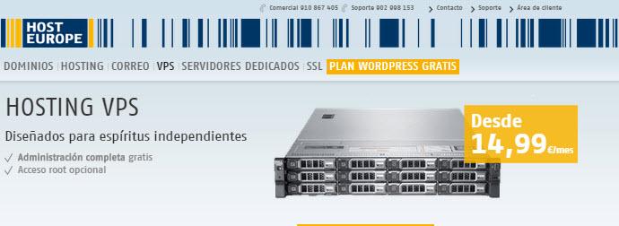 servidores virtuales España