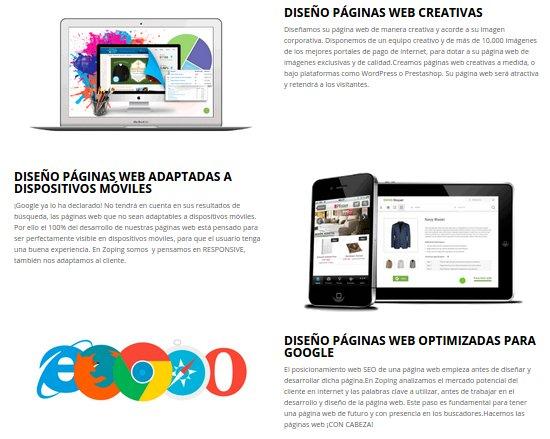 Diseño tiendas online WordPress