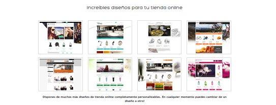 Diseño tiendas online baratas