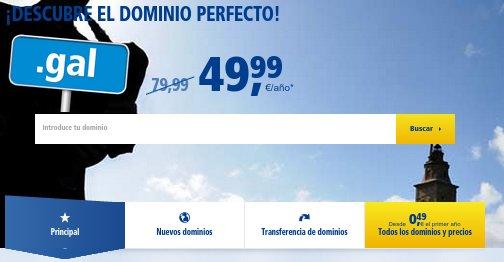 Reserva de dominios web precios