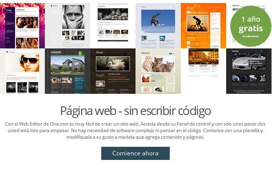 One.com alojamiento web