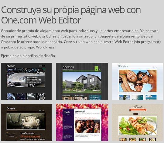 One.com hosting