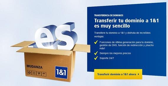 transferencia de dominio .es
