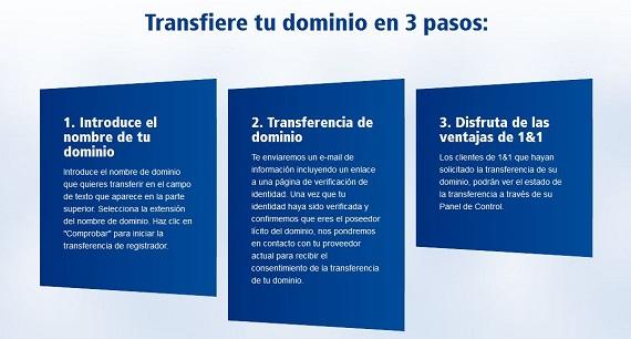 transferencia de dominio cómo funciona