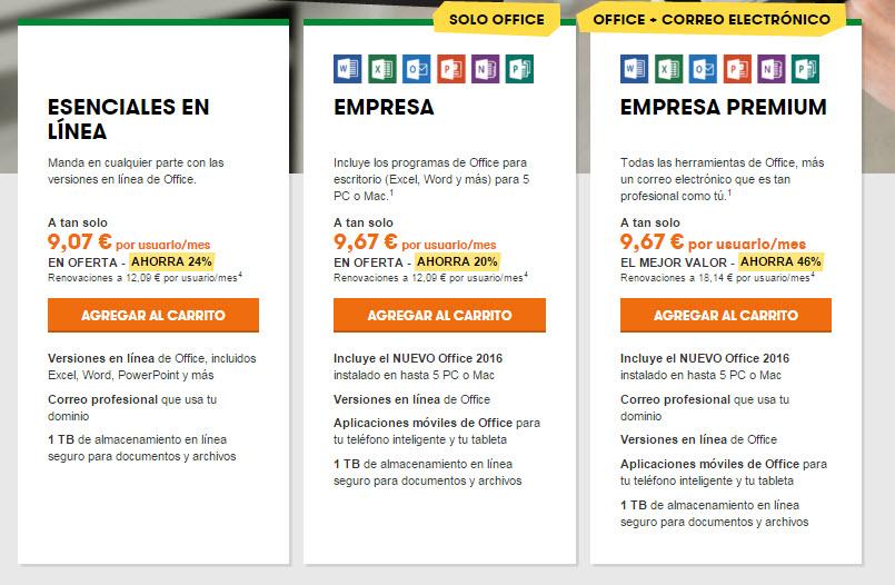 microsoft office online precios