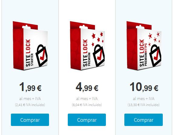 sitelock precios