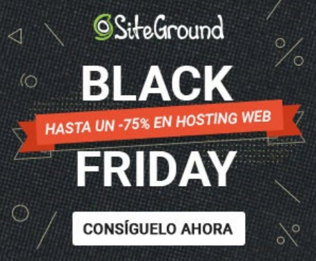 siteground black friday ofertas