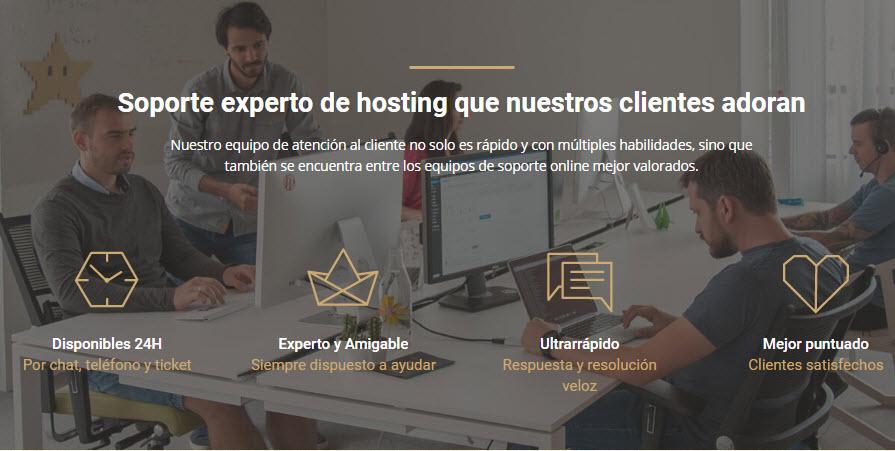 Servicio de Atención al Cliente Hosting WordPress