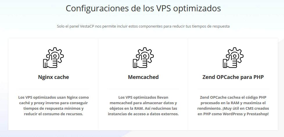 servidores vps optimizados